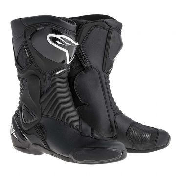 Alpinestars SMX 6 Waterproof Motorcycle Race Touring Boots Black